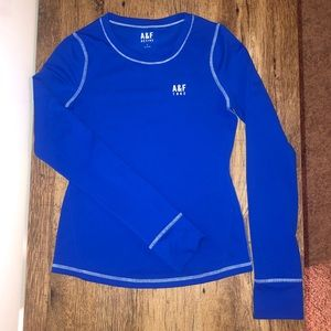 Abercrombie and Fitch athletic long-sleeve